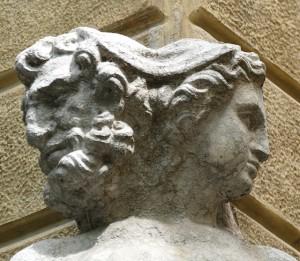 Palazzo Magnani a Reggio Emilia, Giano BIfronte, L'Anno Vecchio e l'Anno Nuovo
