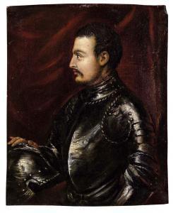 Giovanni dalle Bande Nere in un ritratto di Gian Paolo Pace