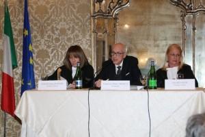 """La """"Corte"""" del Processo a Nino Bixio presieduta dal Prefetto di Milano Francesco Paolo Tronca"""