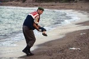 6:15 - Bambino siriano affogato