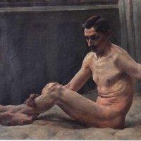 Vlastimil Košvanec - Nudo di uomo