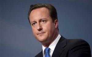 David Cameron, ex primo ministro del Regno Unito