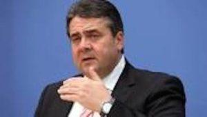 Il ministro dell'economia tedesco Sigmar Gabriel