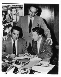 Bela Lugosi con Ed Wood