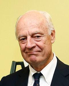 Il rappresentante dell'ONU Steffan de Mistura