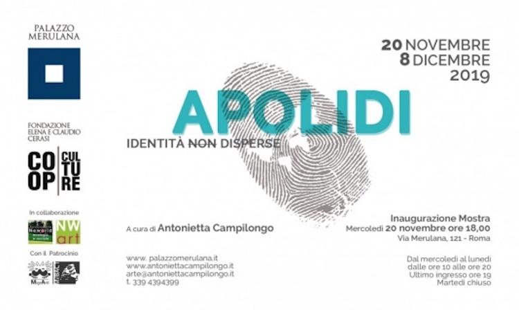 """Roma: """"Apolidi"""" – Identità non disperse. Mostra a Palazzo"""